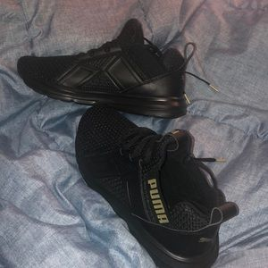 New Black Puma Sneakers